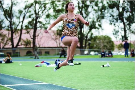 Katey Long jump