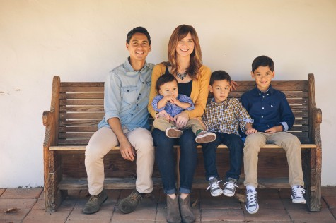 Cabildo shares and strengthens his faith with his family.