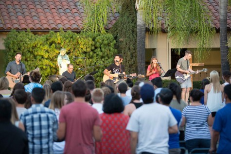 Cabildo and others perform at XLT on Sept. 17, 2014.
