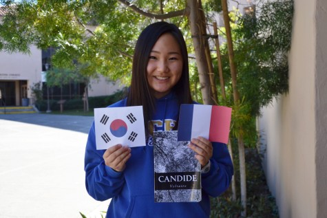 Sophomore Rachel Kim gets the best of both worlds by understanding both South Korean and French culture.