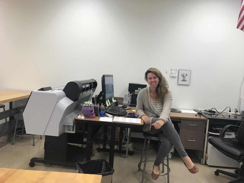 New art teacher replaces former art teacher : Mr. Hoff.