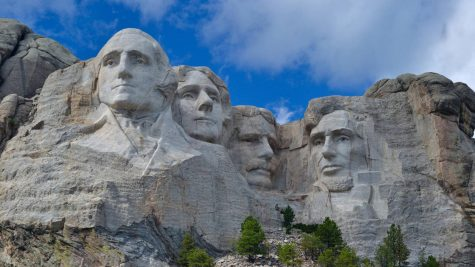 Faces behind Mount Rushmore
