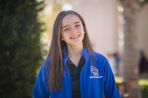Following in the legacy of former-ASB President John Grayson, Claire Crafts seeks to leave behind her own legacy on campus.