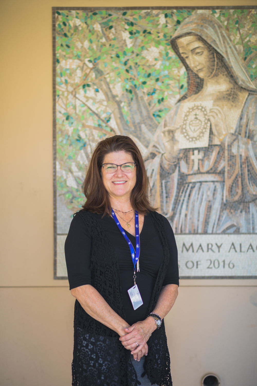 Continuing a long history of Catholic education, Principal Wood steps onto campus with a fresh perspective on student life.