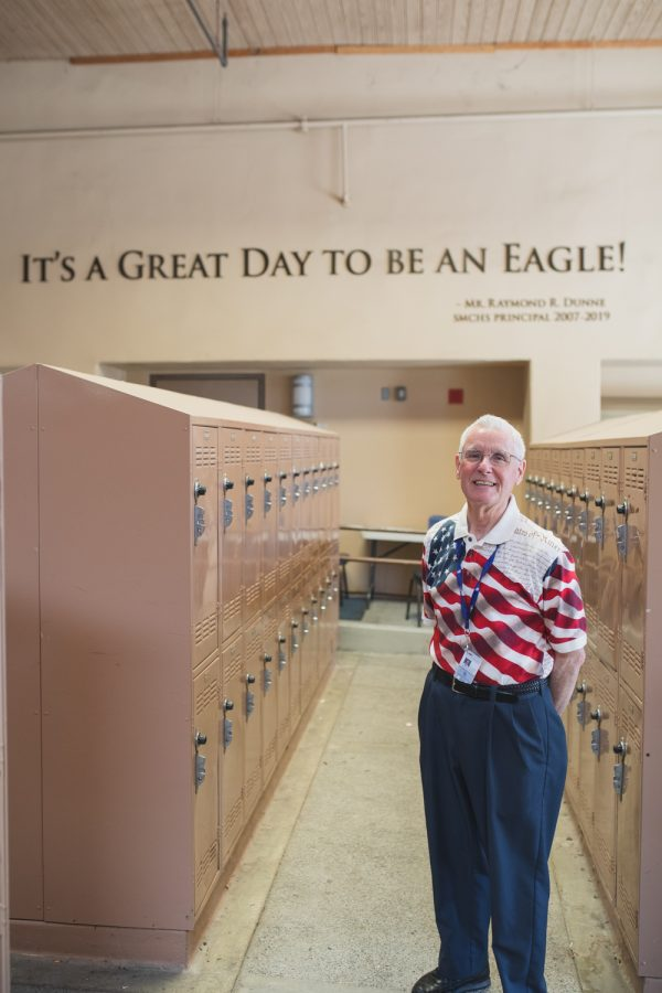 Dunne+was+principal+for+12+years.+His+legacy+remains+enshrined+on+a+main+campus+wall+with+his+legendary+saying.
