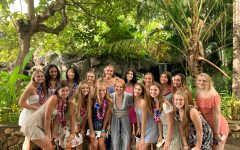 Girl's volleyball spent travelled to Oahu, leaving with a third place title.