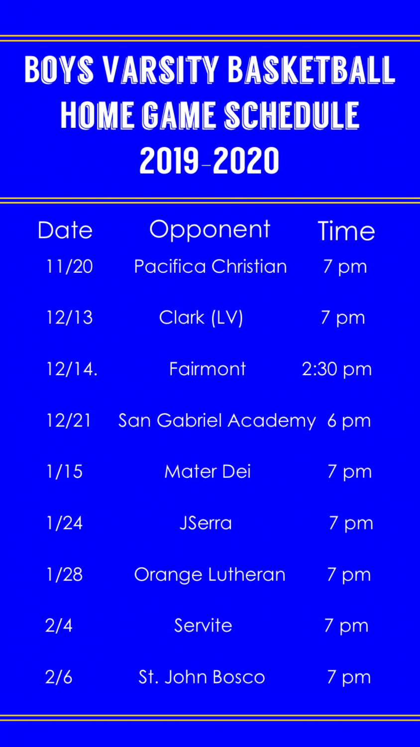 Come support your boys!
