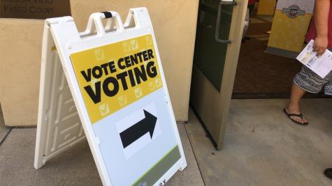 This vote center is one of many located across Orange County where voters have access to a myriad of services.