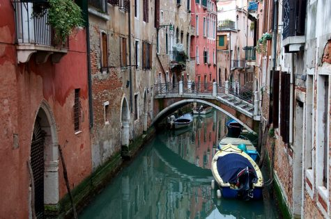 The decrease of tourism in Venice, Italy improves the canal
