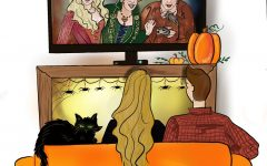 Halloween night- People can watch their favorite seasonal movies in the comfort of their own home.