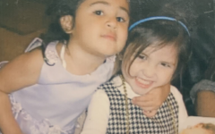 Maddox and her cousin, Trinity Ewert, posing at age 2. Maddox and Ewert were cousins that were the same age, so they immediately became best friends. Maddox was inspired by Trinity's story to start her charitable business.