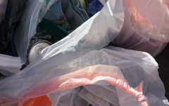 The Surfrider club raises awareness of ocean pollution through their beach cleanups. The members picked up ten trash bags of litter at the most recent clean up.