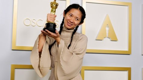 """Chloe Zhao wins Best Picture for """"Nomadland."""""""