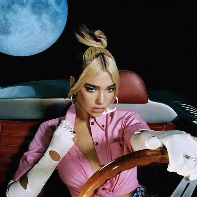 The+Album+%22Future+Nostalgia%22+features+tracks+of+pop-funk+and+disco.