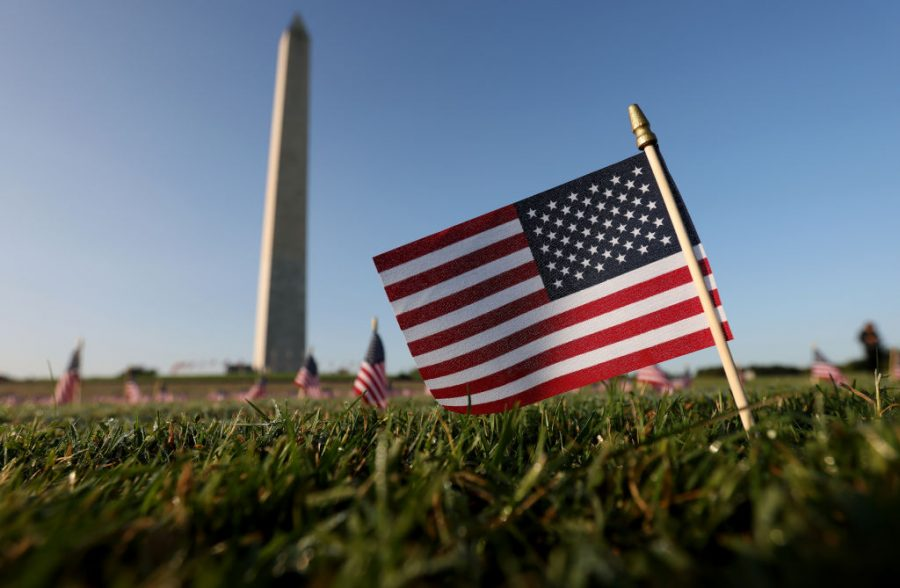 200%2C000+American+Flags+Installed+On+National+Mall+To+Memorialize+200%2C000+COVID-19+Deaths